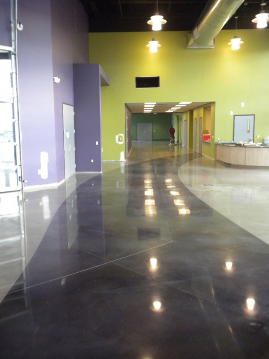 Concrete cleaning inc concrete repair and restoration for Polished concrete maintenance